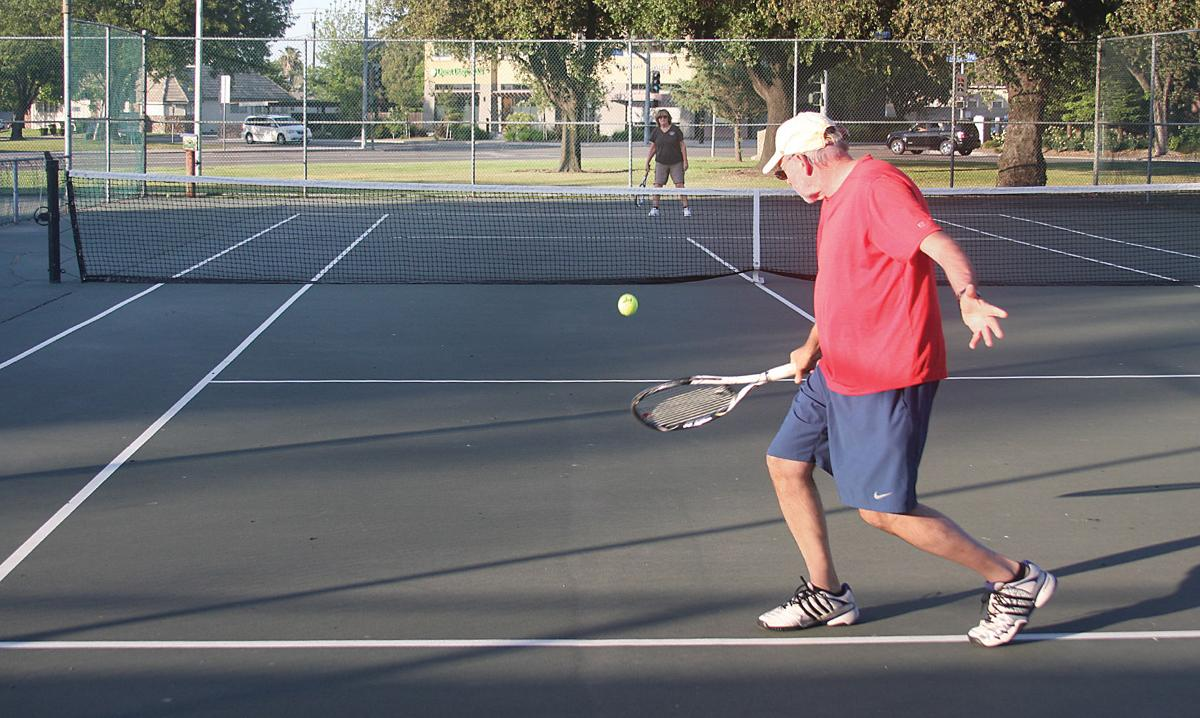 Tennis courts reopen