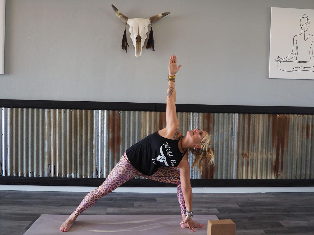 Patterson's new yoga studio looks to build community