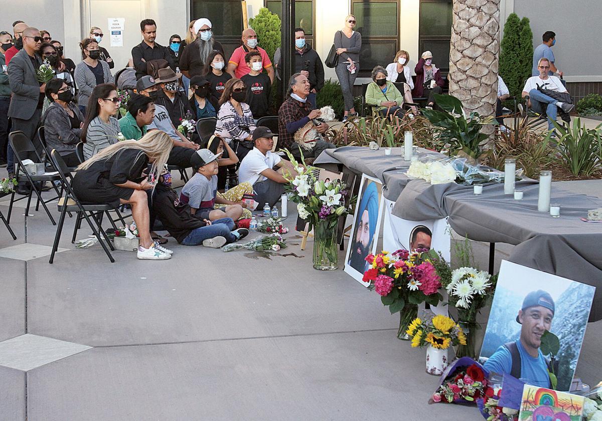 Vigil for Paul Megia