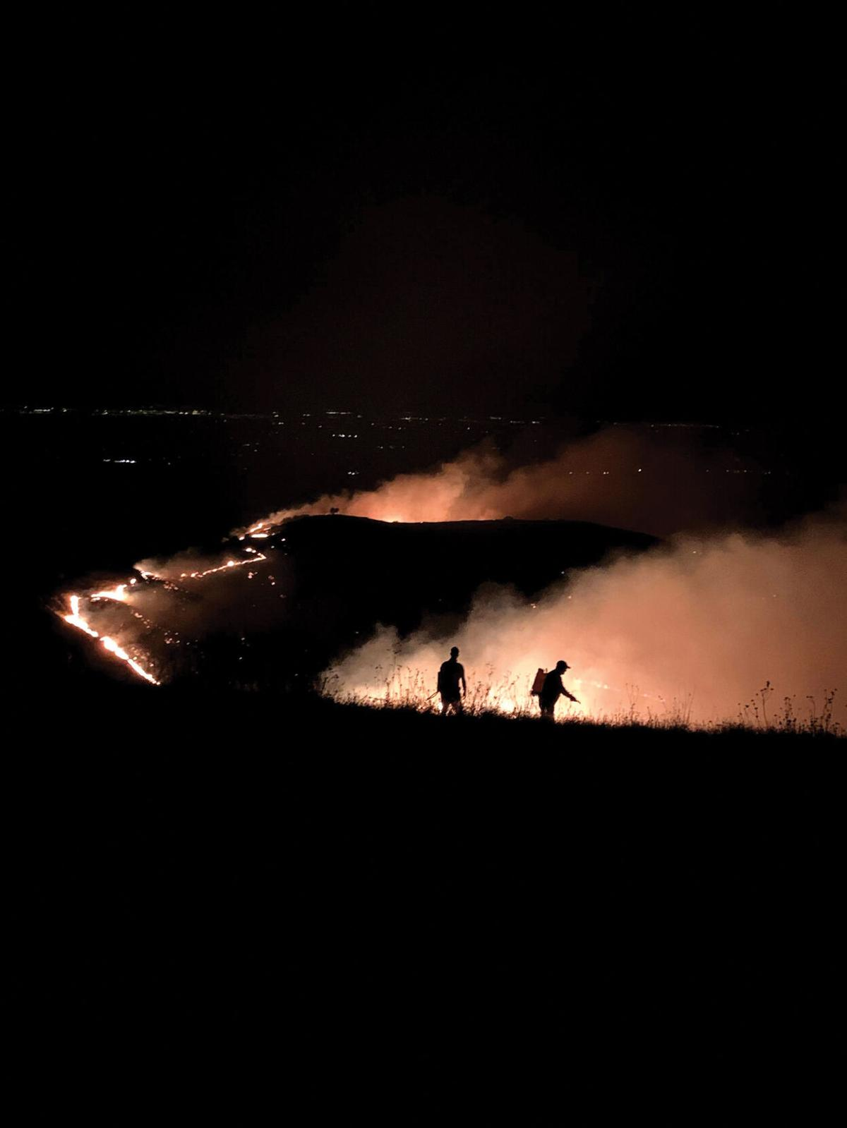 Ranch threatened by fire