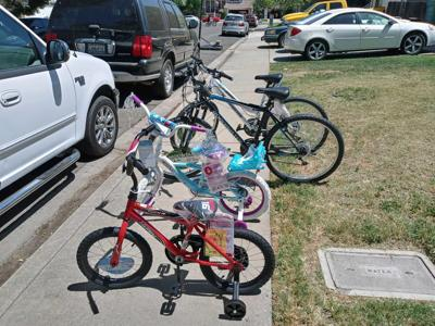 Bike raffle profits support HOST and Naomi's Houses