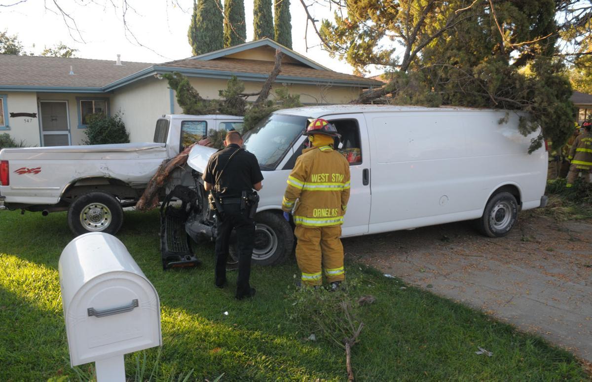 Van collision 1