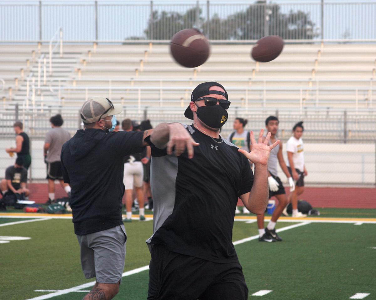 Bulldogs back in practice