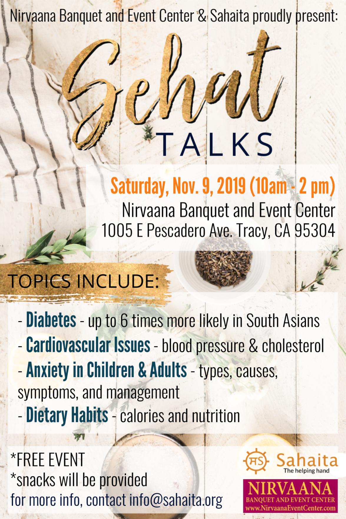 Sehat Talks