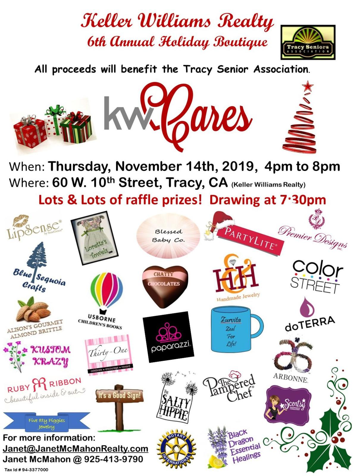 Keller Williams 6th Annual Holiday Boutique Fundraiser