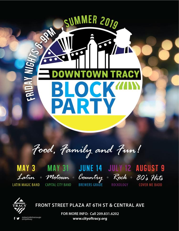 City of Tracy - Downtown Block Party Series