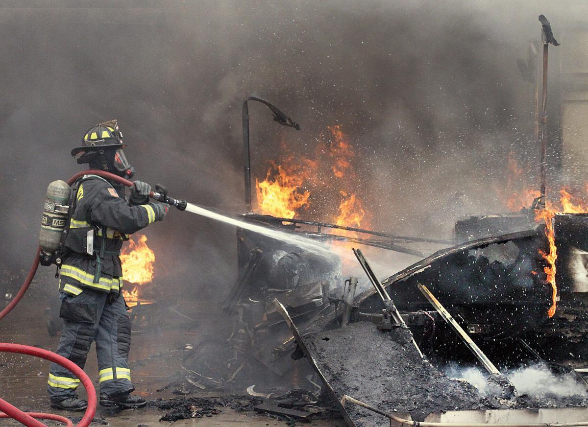 Fire on Alden Glen