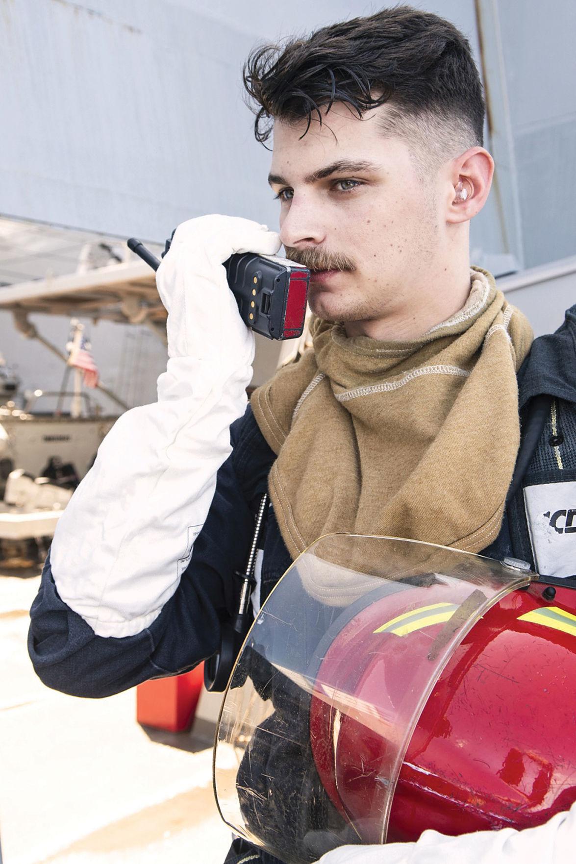 Navy fire drill