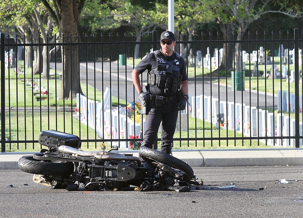 Rider killed in crash