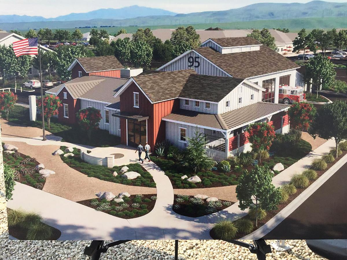 Fire authority breaks ground for new station