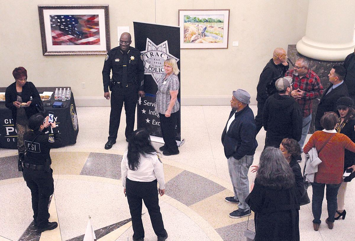 Chief meets the public