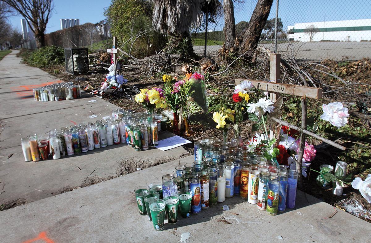 Crash memorials