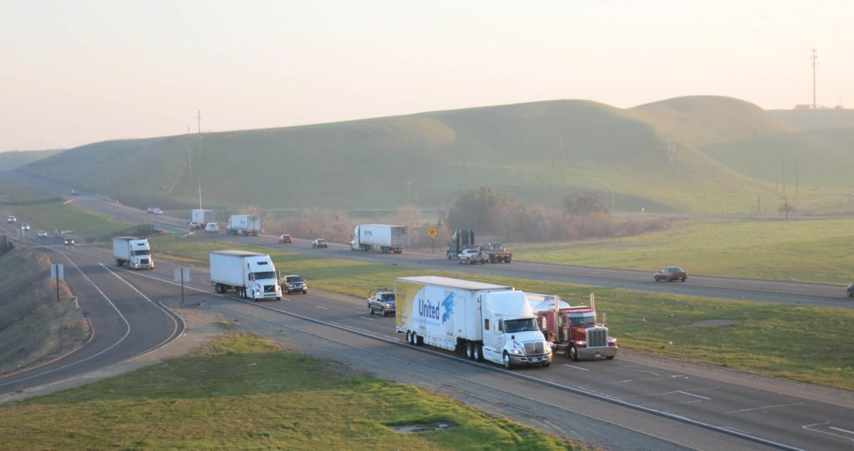 Interstate 5 traffic