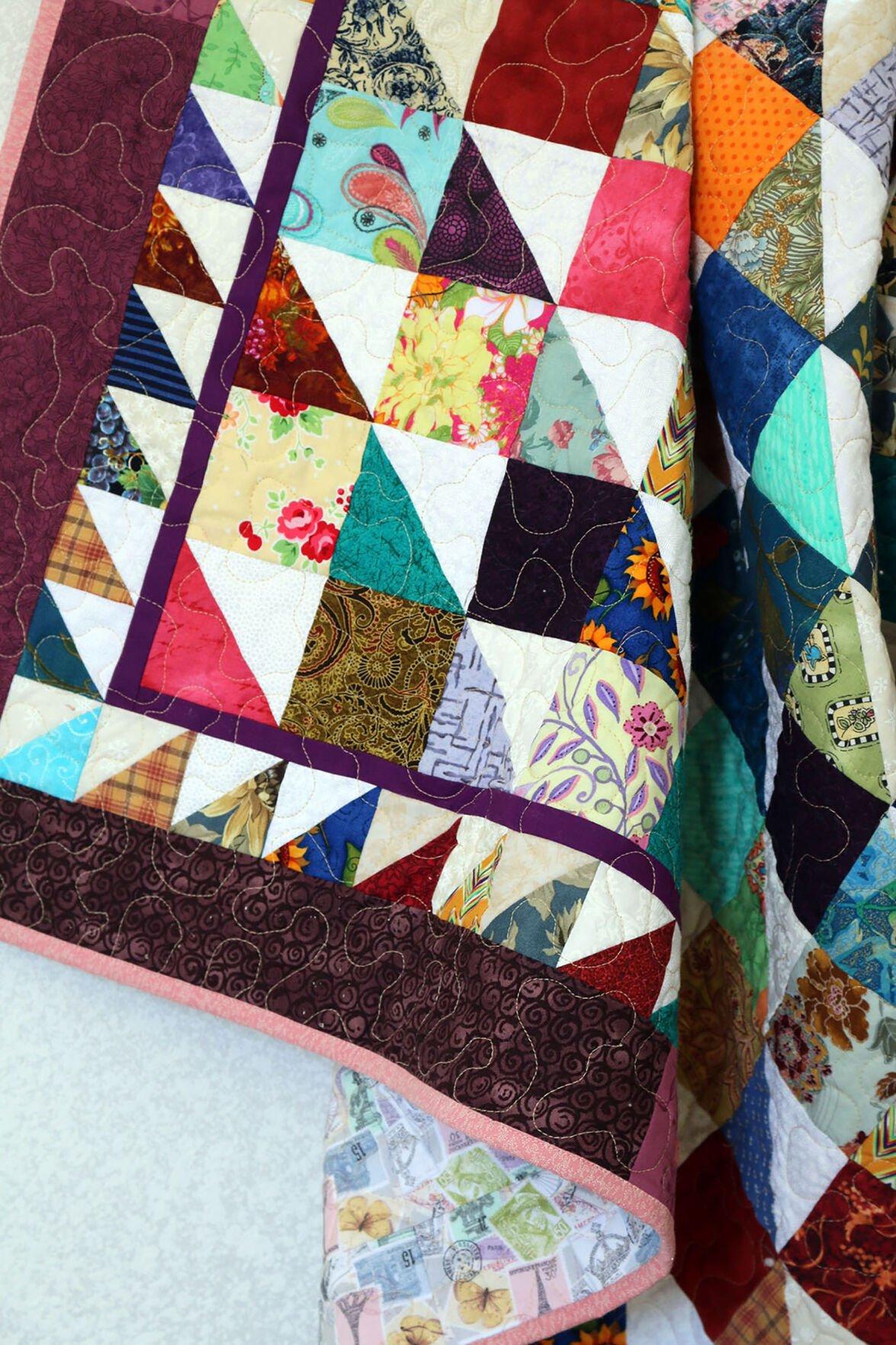 Quilt, Handmade by Debra Heltzel