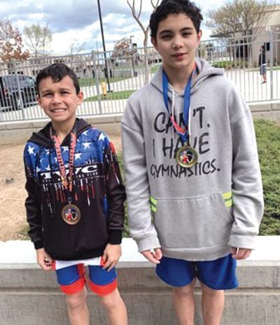 Bella Vista wrestlers medal in Modesto