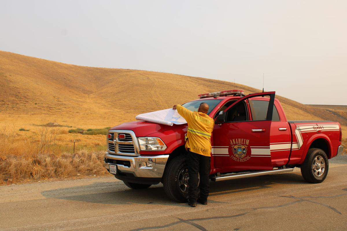 Del Puerto Canyon fire update