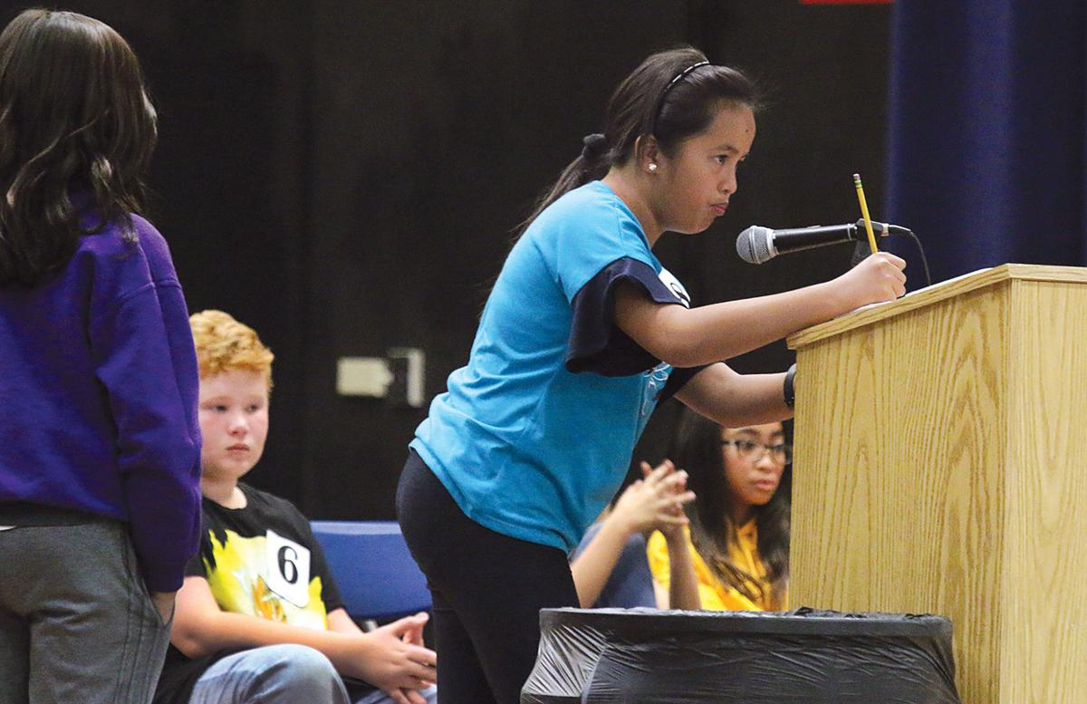 District spelling bee