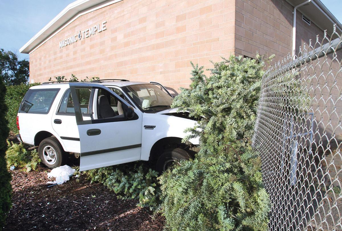 Crash at Masonic Temple