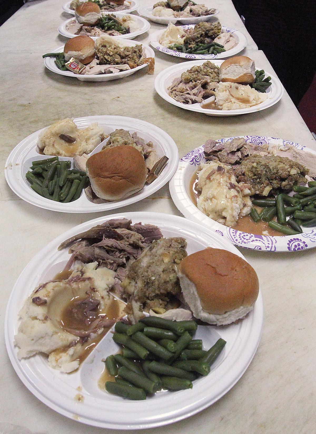 Senior Thanksgiving dinner