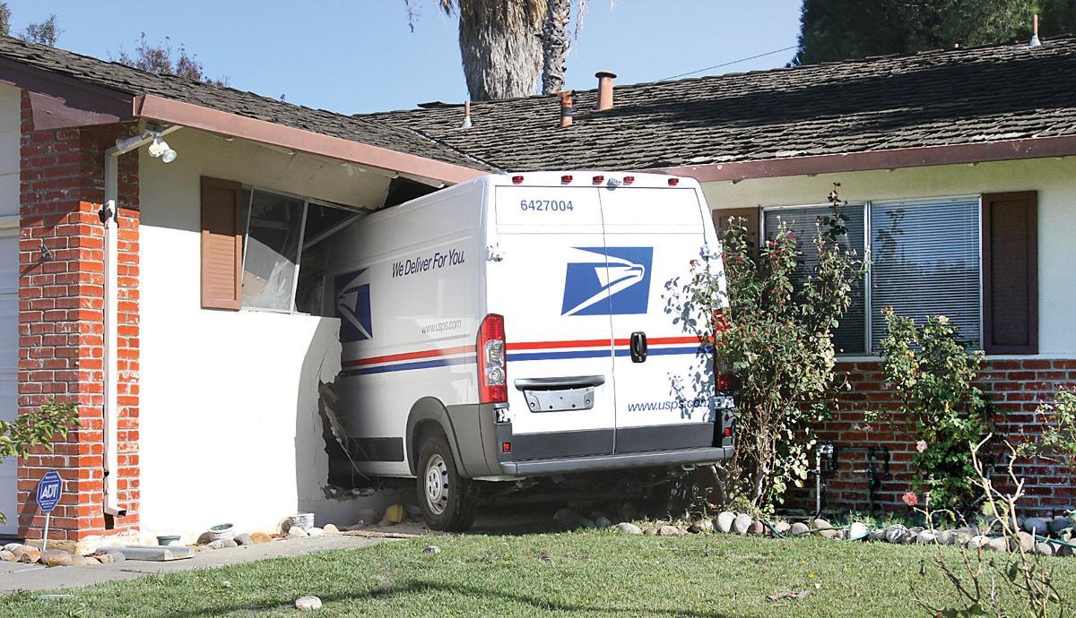 Mail truck stolen