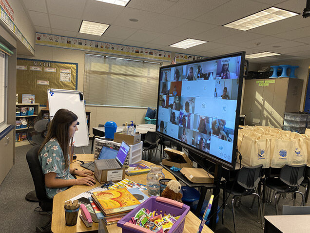 PJUSD began school year with remote instruction on Tuesday