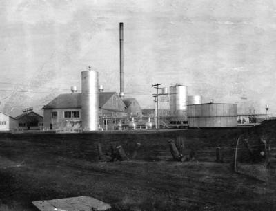 Shell Oil pumping plant