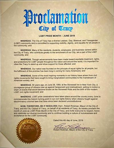 Pride Month Proclamation