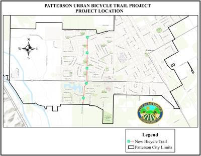 Urban Bicycle Trail Map