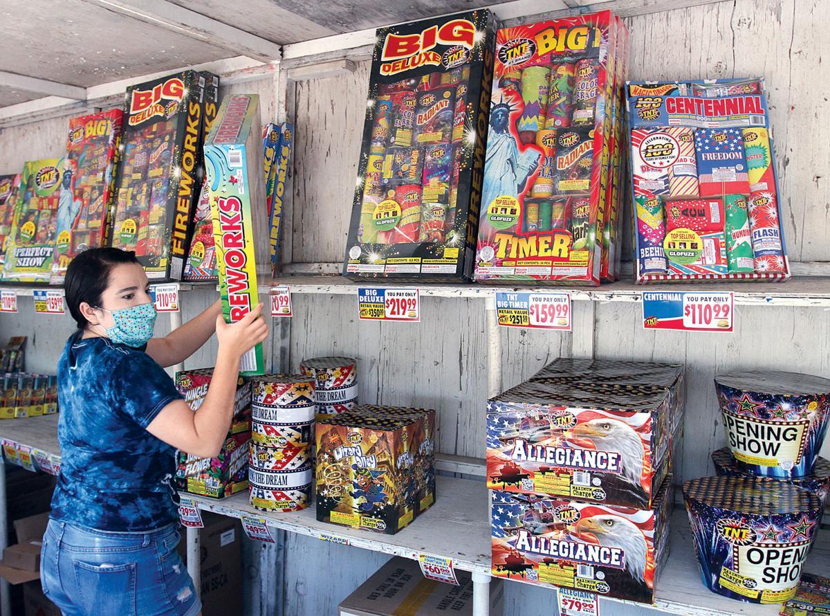 Fireworks on sale