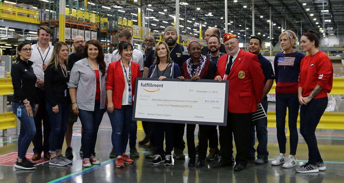 Amazon Donates on Veteran's Day