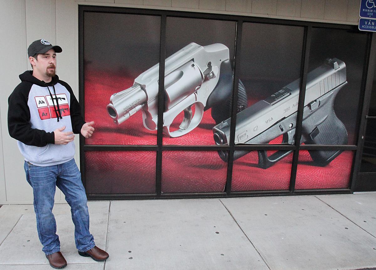 Gun shop owner sues California Attorney General
