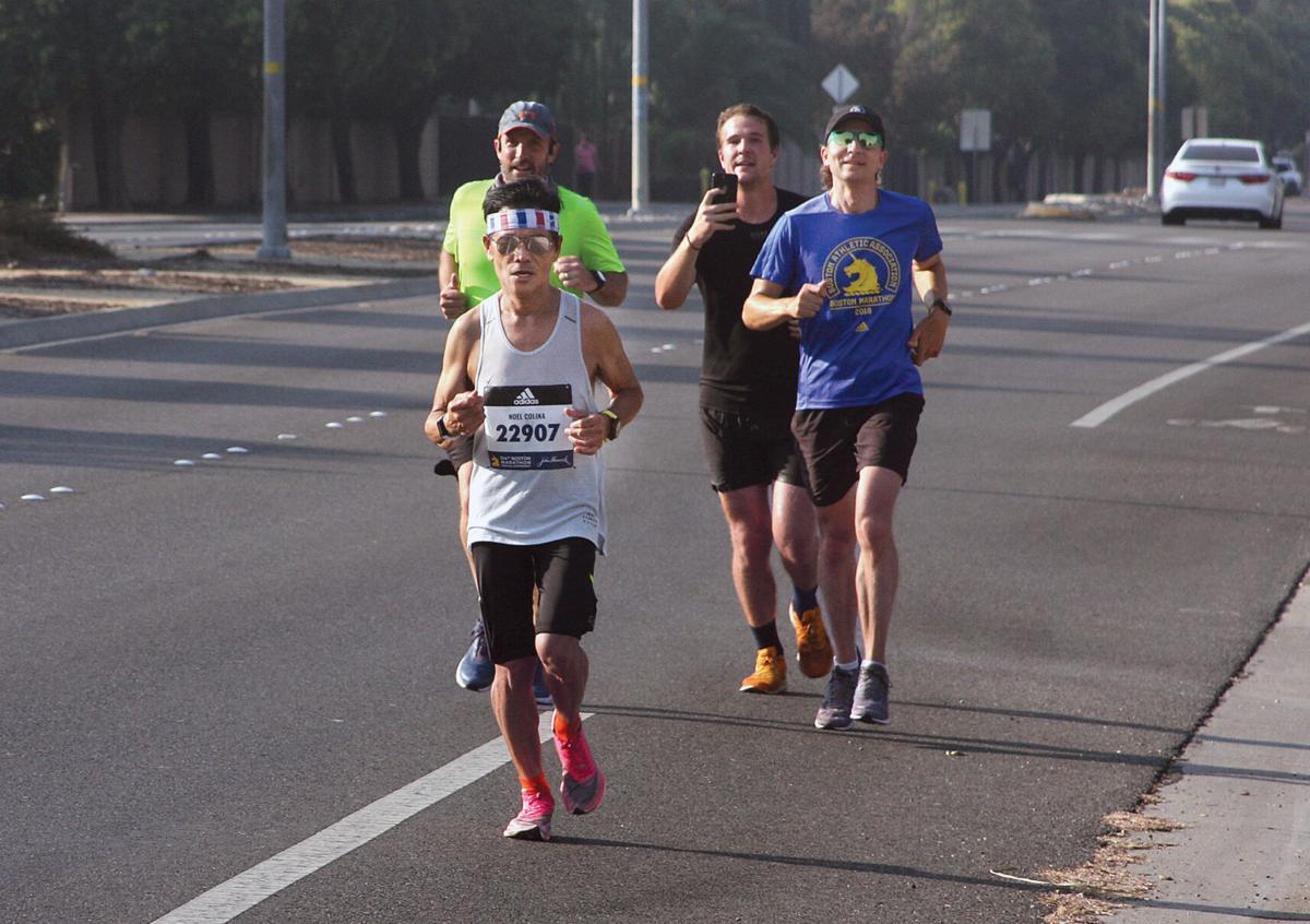 Boston Marathon in Tracy