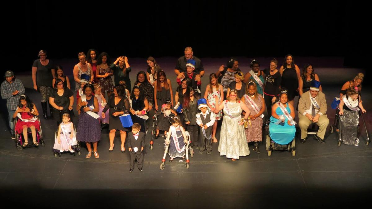 Crowns & Cases Special Needs Pageant Participants