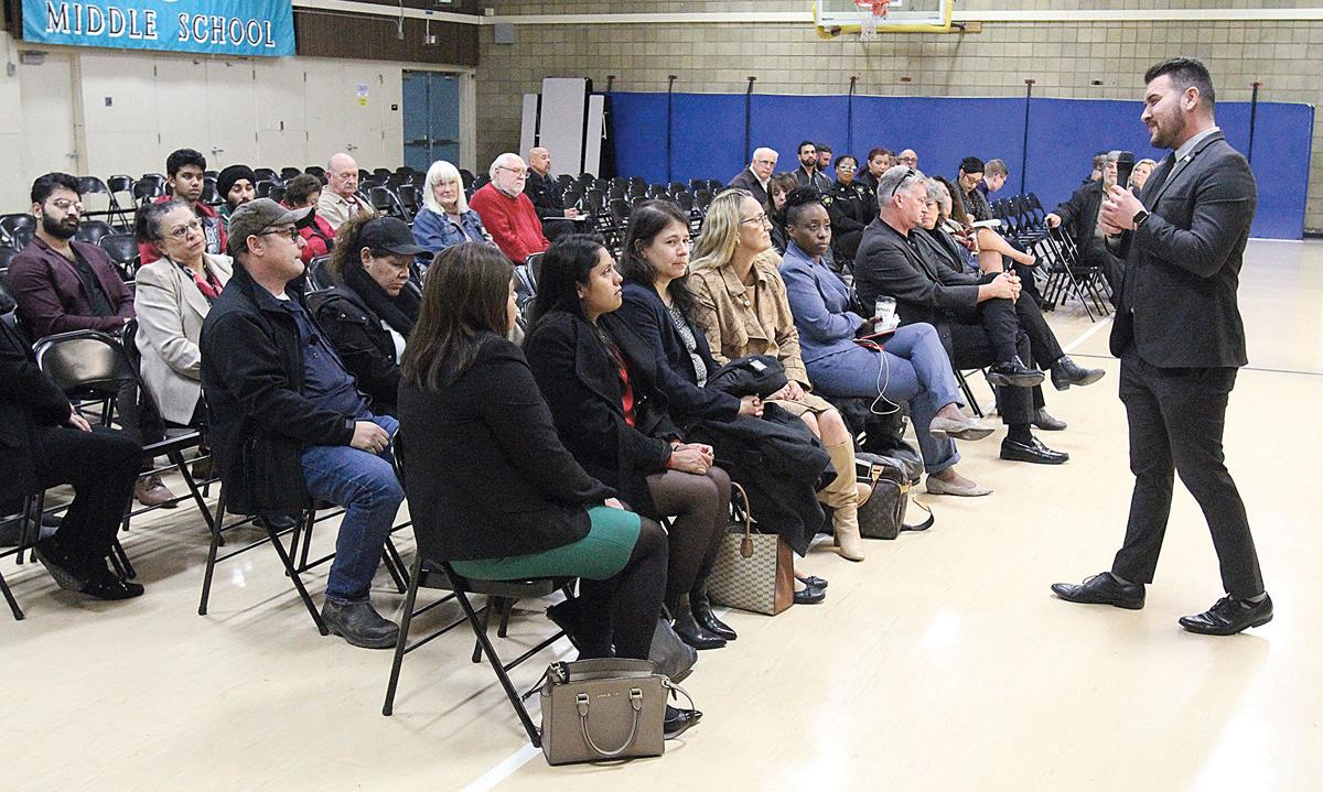 Town hall discusses safety
