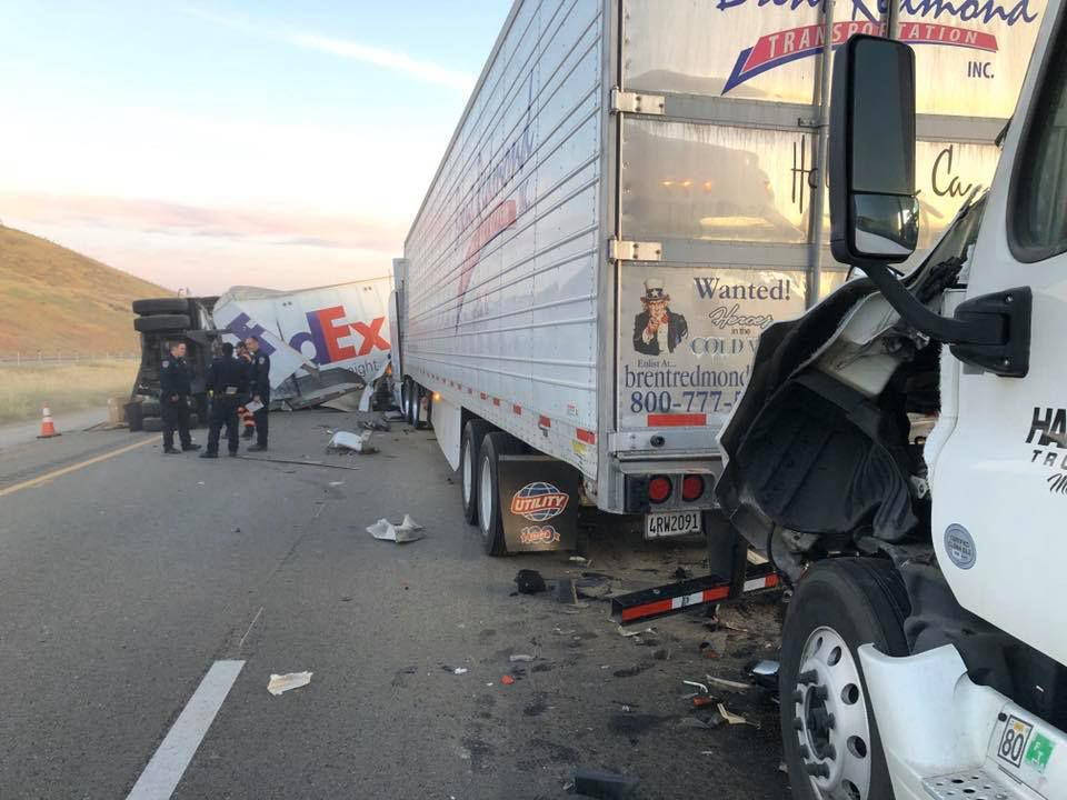 Accident I5 on April 30