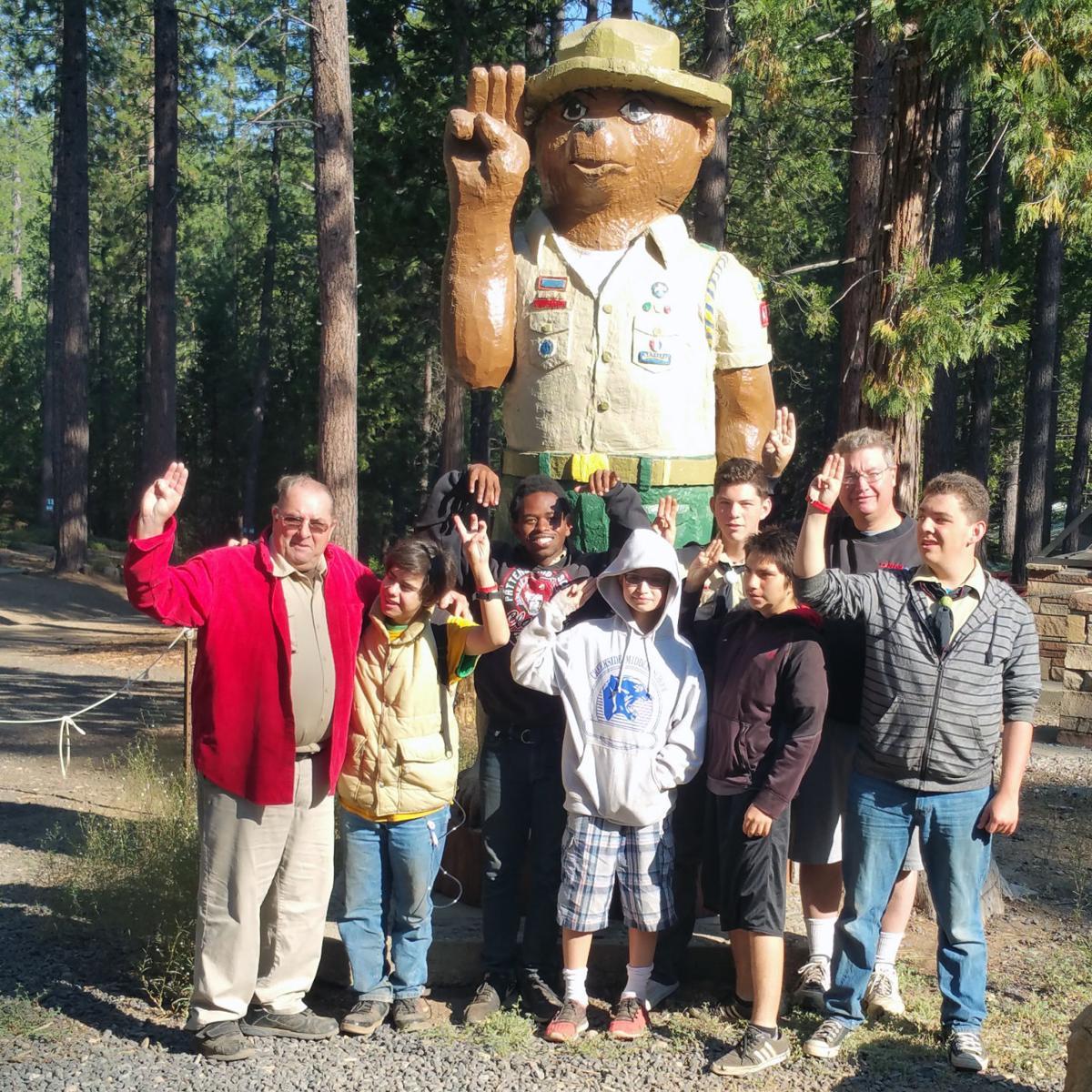 Boy Scouts bear