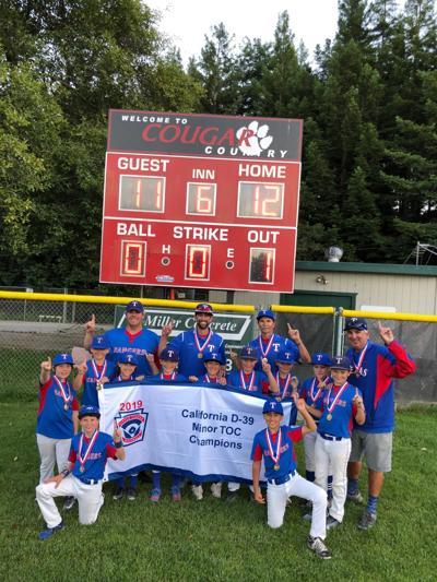 Scotts Valley Little League AAA Rangers – A Magical Season