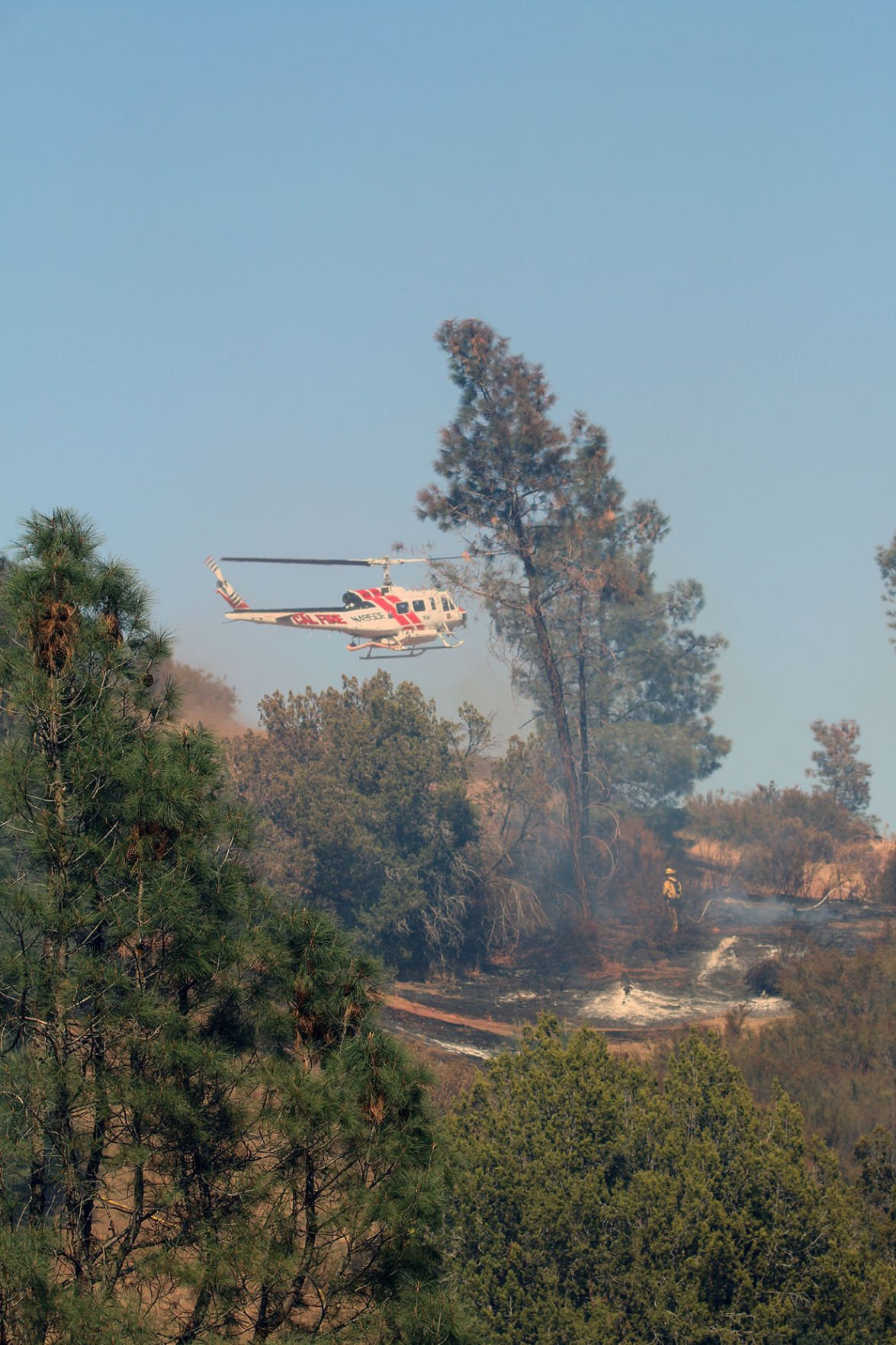 20-acre Fire in Del Puerto Canyon