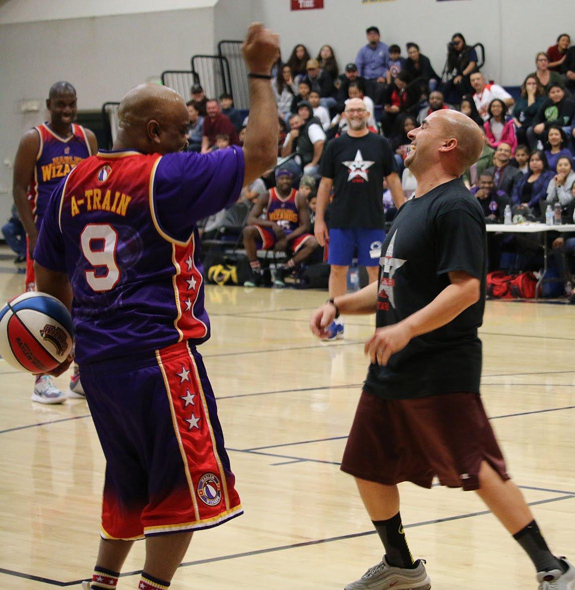 All Stars vs Harlem Wizards
