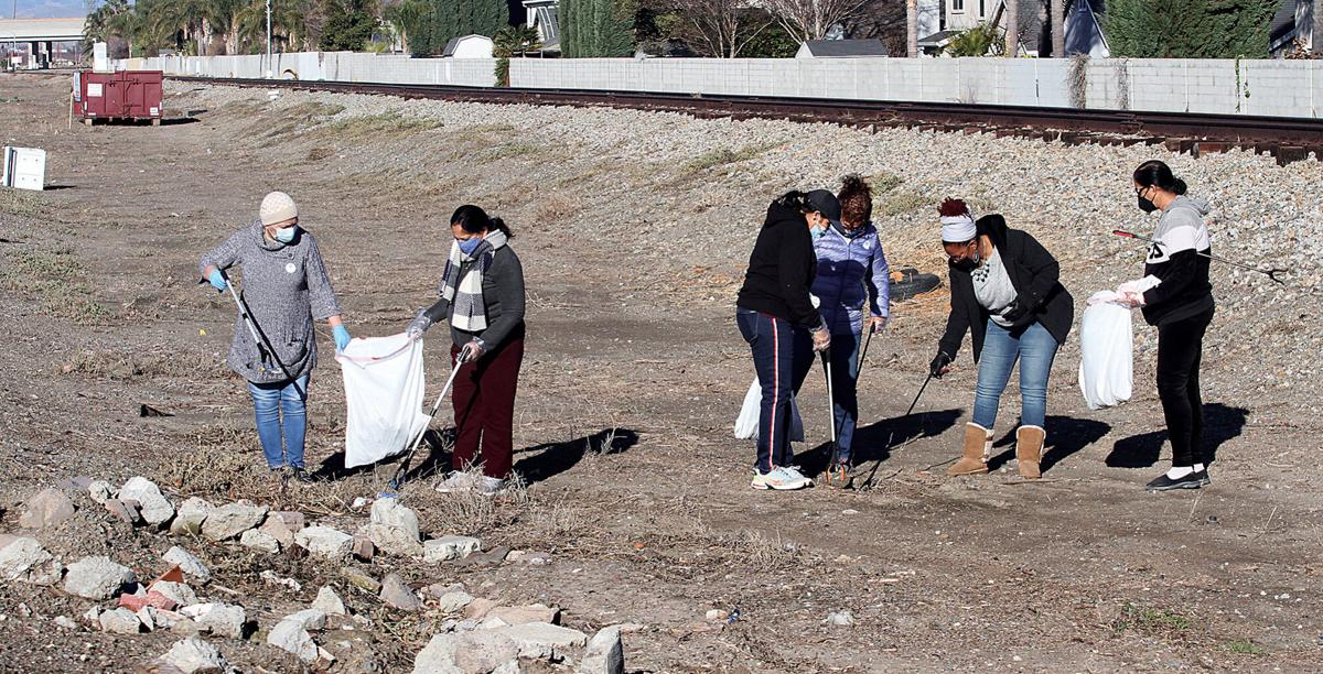 United Sikhs community clean-up