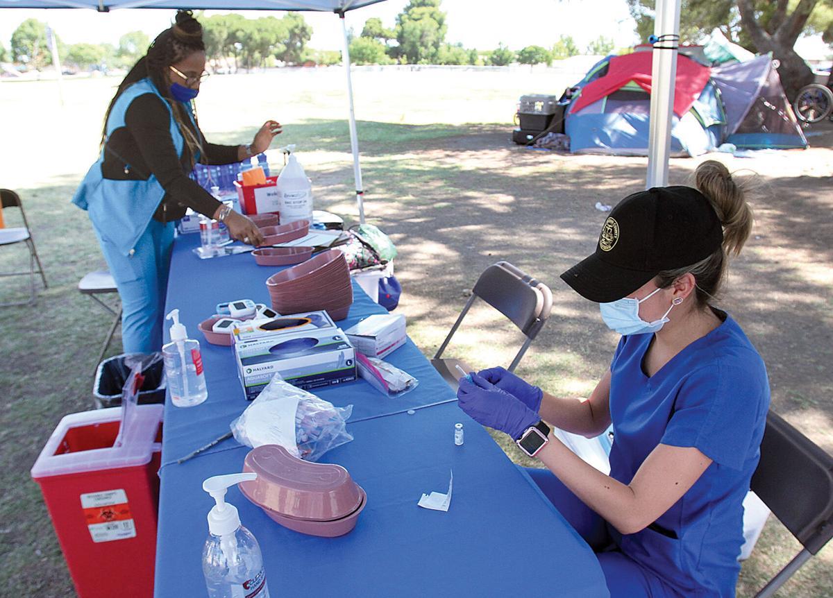 Outreach at El Pescadero Park
