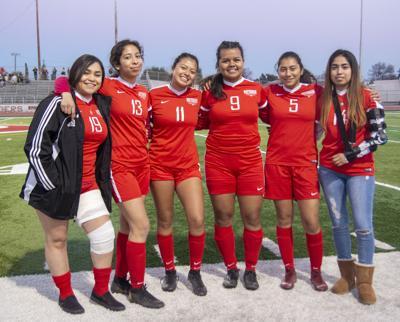Girls Soccer Senior Night