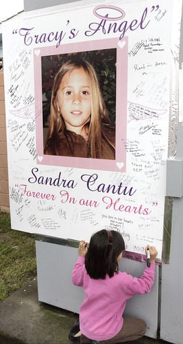 Slideshow: Growing memorial for Sandra