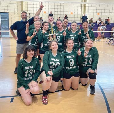 Delta Charter volleyball