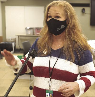 CAREER COMPLETE Longtime Santa Cruz County Clerk Gail Pellerin announced Nov. 12 that she will be retiring at the year's end. — Tarmo Hannula/The Press Banner