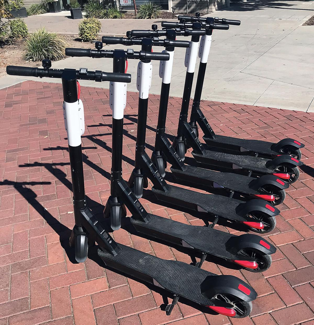 E-scooters arrive in Tracy