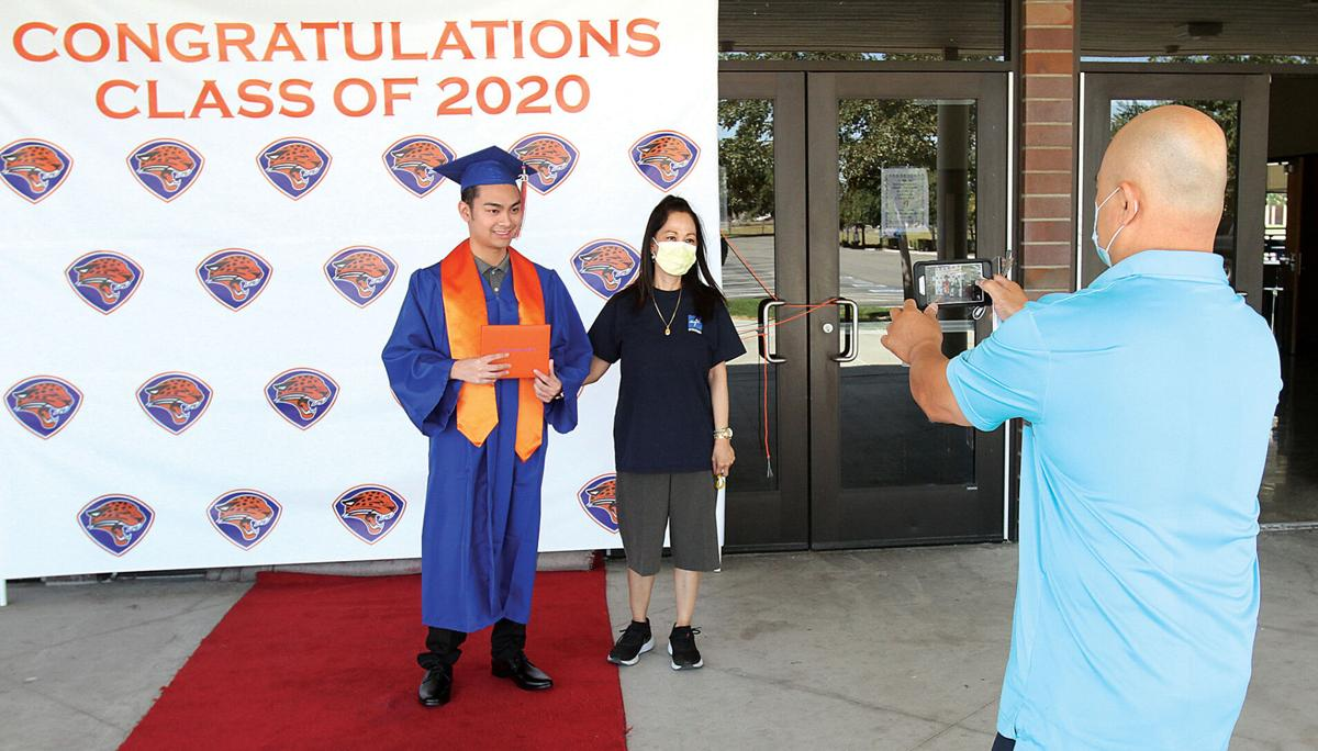 Diploma covers handed out