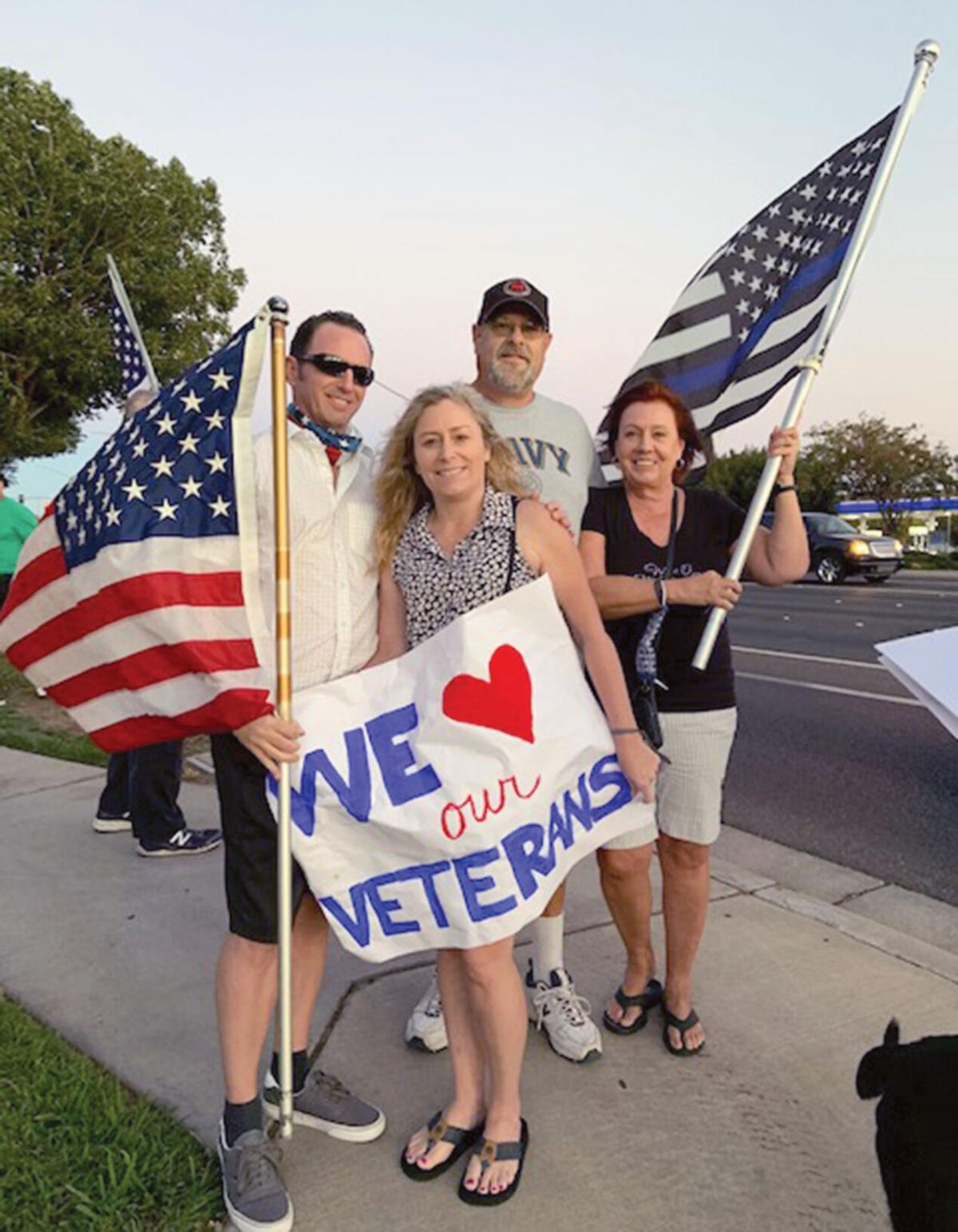 Rally supports those in public service