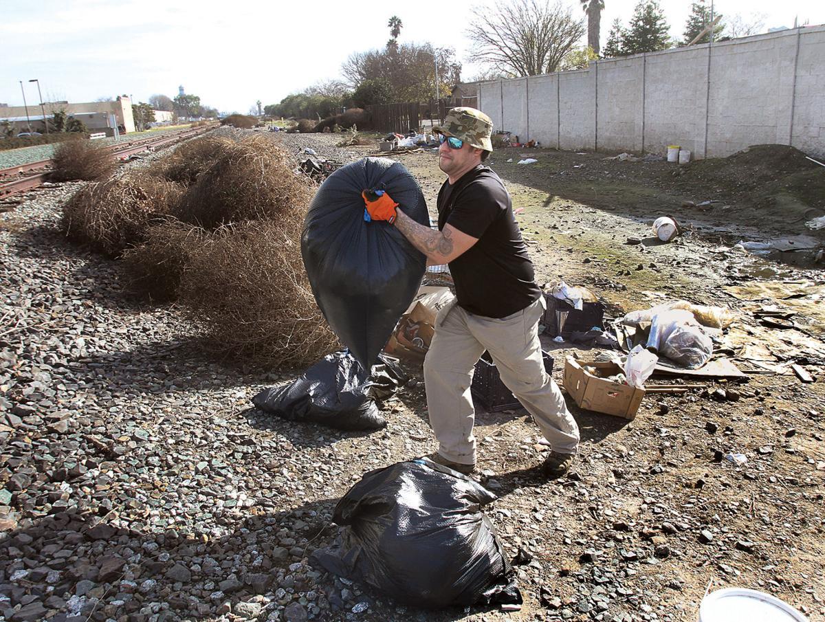 Trash cleanup