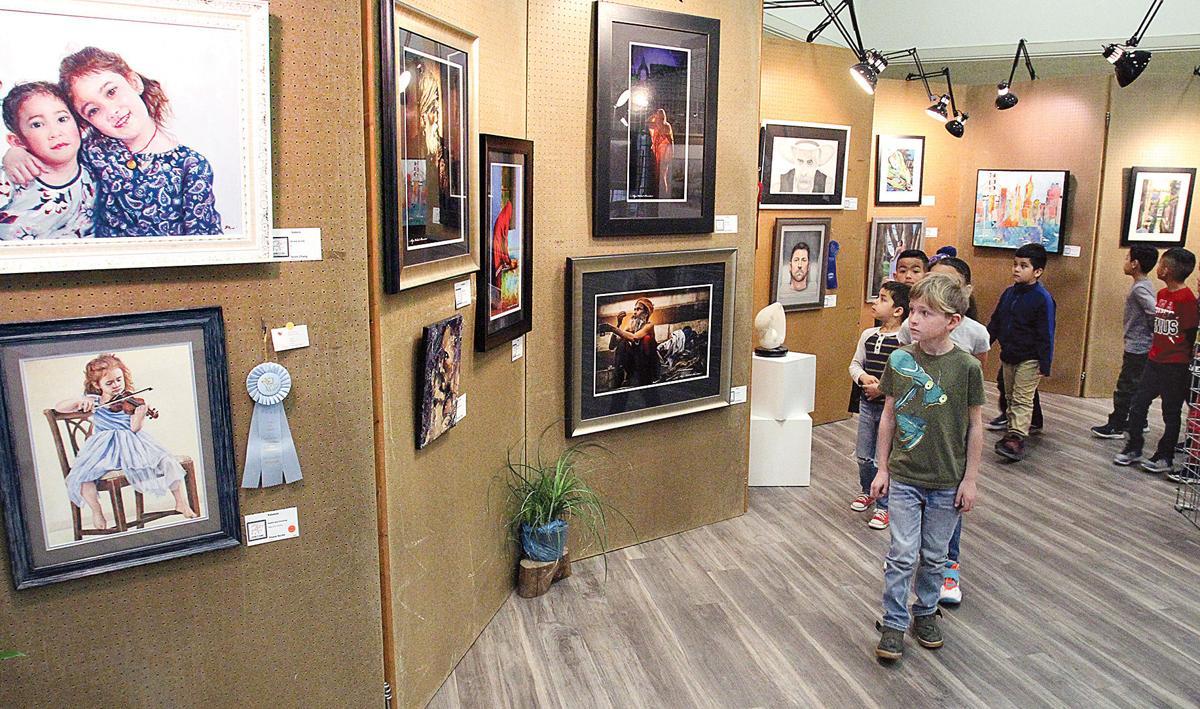"""2020 Expressions!"" art show"